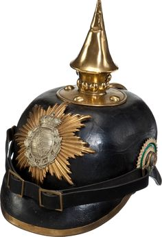 German;Saxony Infantry,Enlisted Man's  1895 ModelPickelhaube