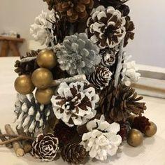 クリスマスDIY♪松ぼっくりで素敵なツリーを作ろう♪ナチュラルクリスマスインテリアにぴったり!おしゃれで豪華な松ぼっくりツリーの作り方
