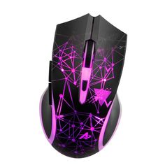fo sa Gaming Mouse Game-Level Optical Engine Wired 1200//1600//2400//3200DPI USB Computer Mice 7 Buttons Frosted Computer PC Game Mouse