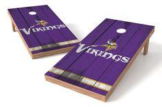 Minnesota Vikings Cornhole Board Set - Vintage
