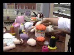 Caixa de Costura com Anjinho 3/3 - Programa Mulher.com (23/07/2012) - YouTube