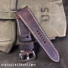 Mauser joy in 2017, get your hand made Panerai straps at www.vintagerstraps.com #vintagerstraps #paneraistraps #paneraicentral #handmade #madeintheusa #watchstraps #panerai #paneristi