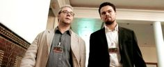 Body of Lies - Russell Crowe and Leonardo DiCaprio