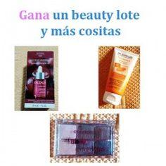 Gana un beauty lote y más cositas ^_^ http://www.pintalabios.info/es/sorteos-de-moda/view/es/4959 #ESP #Sorteo #Cosmetica