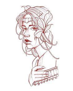 Tattoo Design Drawings, Art Drawings Sketches, Tattoo Designs, Blackwork, Mini Tattoos, Body Art Tattoos, Neo Tattoo, Black And White Art Drawing, Desenho Tattoo
