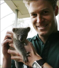 Dr. Chris Brown, vet and TV celebrity from Australia