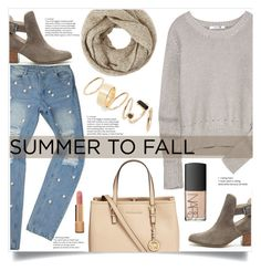 """""""Untitled #1075"""" by kaymeans ❤ liked on Polyvore featuring Sole Society, Michael Kors, T By Alexander Wang, John Lewis, BP., NARS Cosmetics and Chanel"""