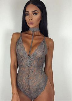 fee1188dfdc  8.99  In Stock Charming Lace Halter Neckline Corsets Lingerie