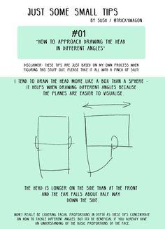 ROAN — trickywagon: Starting a mini drawing tips...