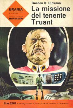 326  LA MISSIONE DEL TENENTE TRUANT 26/1/1964  NAKED TO THE STARS  Copertina di  Karel Thole   GORDON K. DICKSON