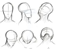 How to Draw a Face - Facial Proportions Drawing Lessons, Drawing Techniques, Drawing Tips, Drawing Reference, Drawing Sketches, Painting & Drawing, Art Drawings, Drawing Faces, Sketching