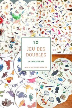 10 Versions Du Jeu Des Doubles A Imprimer Gratuitement