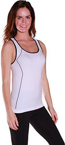 Emmalise Clothing Women's Athletic Work Out Compresion Tank Top - http://www.exercisejoy.com/emmalise-clothing-womens-athletic-work-out-compresion-tank-top/athletic-clothing/