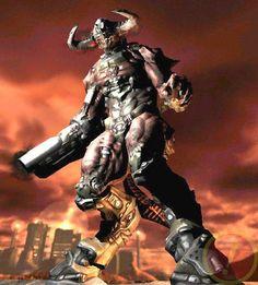 Cyberdemon Doom 3, Doom Game, Master Chief, The Originals, Fictional Characters, Club, Art, Art Background, Kunst