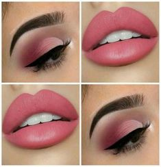 Ideas Makeup For Brown Eyes Step By Step Banners Make-up,, Ideas Makeup For Brown Eyes Step By Step Banners Source by theubermamas. Pink Makeup, Cute Makeup, Perfect Makeup, Pretty Makeup, Awesome Makeup, Makeup Goals, Makeup Inspo, Makeup Trends, Makeup Inspiration