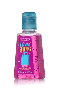 I Love Shopping (Yes I Do) Anti-Bacterial Sanitizing Hand Gel...Love It!!