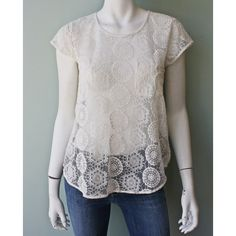 Joie Dalliance Lace Tee #joieclothing