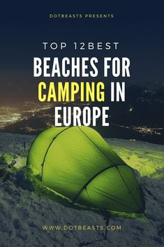 68 ideas family camping photography the beach Camping Europe, Camping In Ohio, Camping Places, Camping World, Family Camping, Backpacking, Europe Beaches, Beaches Near Me, Uk Campsites
