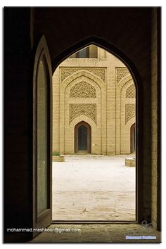 https://flic.kr/p/bkoXoo | Al Mustansiriya5 | Mustansiriya Madrasah (Arabic,المدرسة المستنصرية) is a historical building in Baghdad, Iraq. It was the premises of one of the oldest Islamic universities in the world, established in 1227 as a Madrasah by the Abbasid Caliph al-Mustansir making it one of the oldest universities in the world. It is located on the left bank of the Tigris River, the building survived the Mongol invasion of 1258, and has been restored.