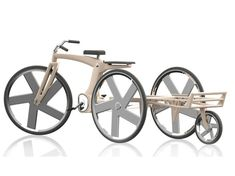 G2 Greencycle 2nd Generation Improves Bicycle's Functionality and Load Capability | Tuvie