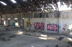 almacén abandonado