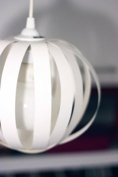 DIY paper lamp shade
