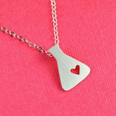 Medical laboratory and biomedical science: Necklace For Your Lab Valentine
