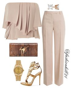"""Untitled #1197"" by fashionkill21 ❤ liked on Polyvore featuring Cédric Charlier, Emilio Pucci, Giuseppe Zanotti, Allurez, Rolex, women's clothing, women, female, woman and misses"