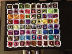 Crochet, mantinha das meninas still a wip...