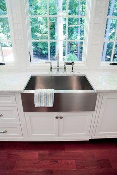 Dennis Kitchen Addition & Renovation - - kitchen sinks - atlanta - by Highlight Homes, LLC