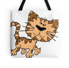 Cartoon Cat Walking Art