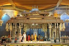 #Templestylemandap , #Mahalstyle of Wedding , #MWP