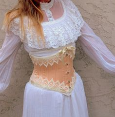 Underbust Corset Steampunk Wedding by LaBelleFairy on Etsy, $375.00
