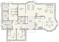 Entréplan 156 m2 spegelvänd