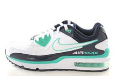 buy popular 21b2d 61be5 Nike Air Max Wright Mens WhiteNavy BlueTeal Green Running Gym Shoes  554886