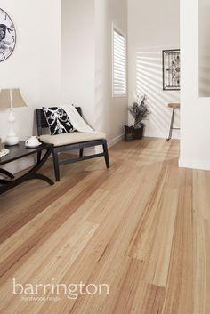 Barrington Hardwoods: Tasmanian Oak 127mm wide 8% super matt coating. www.arrowsun.com.au