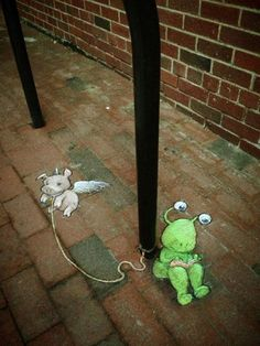 June 29, 2013: David Zinn was at Ann Arbor Summer Festival: Top of the Park.