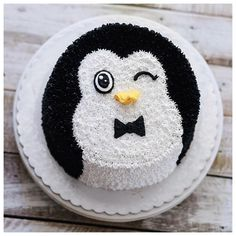 A Cute, Adorable and Lovable Penguin Cake