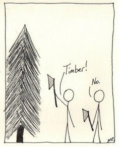 True Story: Lumberjack Fail