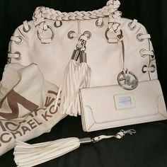 Michael Kors Calfskin soft leather satchel Michael Kors Bags