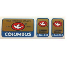 CYCLOMONDO - Columbus frame and fork decals