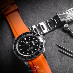 Completely changing the exterior of your Rolex in a matter of minutes: it's all possible with the specially crafted straps by Everest Horology Products.   #rolex #gmt #gmtmaster #submariner #daytona #yachtmaster #datejust #oysterperpetual #everestbands #everesthorologyproducts #evereststrap #watchstrap #horlogeband #strap #amsterdam #horloge #watch