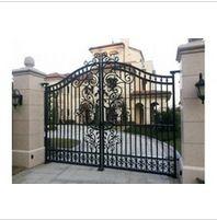 Modern wrought iron gate - www.irondoor.cn