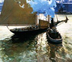 Contemporary Painters: Christopher Blossom - Christian Hemme Fine Art | Artist's Blog