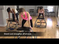 Fuse Pilates Chair Class - Take Your Seat - YouTube