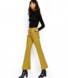 ASOS Bell Flare Trousers