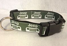 Jeep Dog Collar by lincolnlabel on Etsy