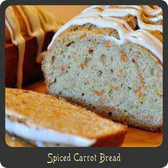 Recipe—Spiced Carrot Bread
