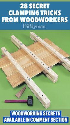 Woodworking Bench Vise, Woodworking Basics, Woodworking Techniques, Woodworking Projects Diy, Woodworking Plans, Diy Wooden Projects, Wooden Diy, Home Workshop, Tips & Tricks