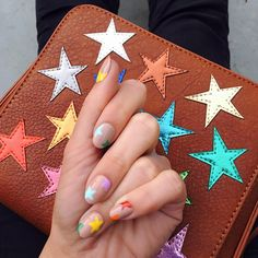 top 32 cutest mismatched nail designs Amazing Mismatched Nail Art Designs Trends Ideas what regarding mismatched nails?Some are insanely random however additional typically than not, their beauty lies in however the variable nail art for eve Star Nail Art, Star Nails, Minimalist Nails, Spring Nails, Summer Nails, Winter Nails, Trendy Nails, Cute Nails, Stylish Nails